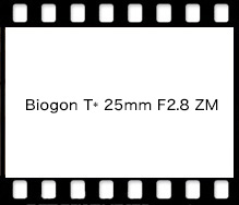 Carl Zeiss Biogon T* 25mm F2.8 ZM