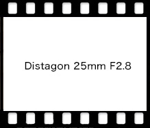 Distagon 25mm F2.8