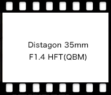 Distagon 35mm F1.4 HFT(QBM)
