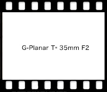 Carl Zeiss G-Planar T* 35mm F2