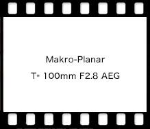 Carl Zeiss Makro-Planar T* 100mm F2.8 AEG