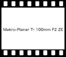 Carl Zeiss Makro-Planar T* 100mm F2 ZE