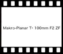 Carl Zeiss Makro-Planar T* 100mm F2 ZF