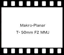 Carl Zeiss Makro-Planar T* 50mm F2 MMJ
