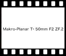 Carl Zeiss Makro-Planar T* 50mm F2 ZF.2