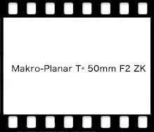 Carl Zeiss Makro-Planar T* 50mm F2 ZK