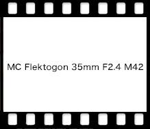 Carl Zeiss MC Flektogon 35mm F2.4 M42