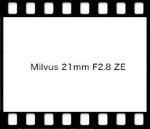 Carl Zeiss Milvus 21mm F2.8 ZE