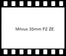 Carl Zeiss Milvus 35mm F2 ZE