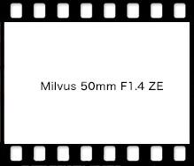 Carl Zeiss Milvus 50mm F1.4 ZE