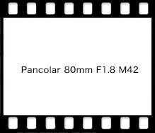 Carl Zeiss Pancolar 80mm F1.8 M42