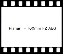 Carl Zeiss Planar T* 100mm F2 AEG