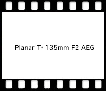 Carl Zeiss Planar T* 135mm F2 AEG