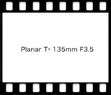 Carl Zeiss Planar T* 135mm F3.5