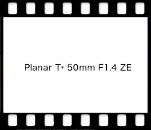 Carl Zeiss Planar T* 50mm F1.4 ZE