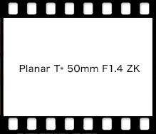 Carl Zeiss Planar T* 50mm F1.4 ZF.2