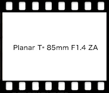 Planar T* 85mm F1.4 ZA