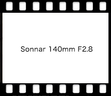 Sonnar 140mm F2.8