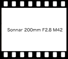 Sonnar 200mm F2.8 M42