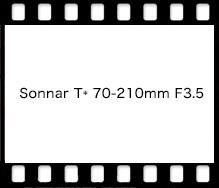 Sonnar T* 70-210mm F3.5 AEG