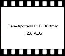 Tele-Apotessar T* 300mm F2.8 AEG
