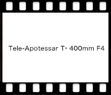 Tele-Apotessar T* 400mm F4