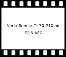 Vario-Sonnar T* 70-210mm F3.5 AEG