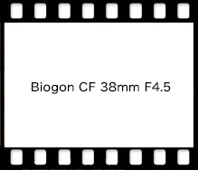 Biogon CF 38mm F4.5