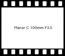Planar C 100mm F3.5