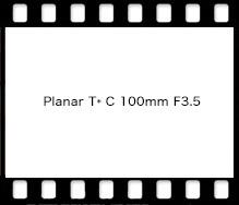 Planar T* C 100mm F3.5