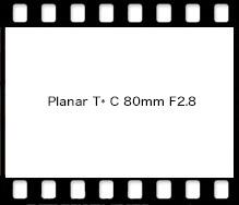 Planar T* C 80mm F2.8