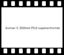 Sonnar C 250mm F5.6 superachromat