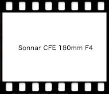 Sonnar CFE 180mm F4