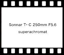 Sonnar T* C 250mm F5.6 superachromat